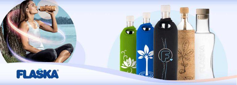 Les bouteilles Flaska sont arrivées chez Natura